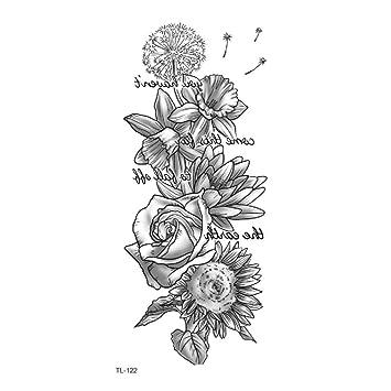 Animal acuarela boceto pareja carta flor tatuaje pegatina flor ...
