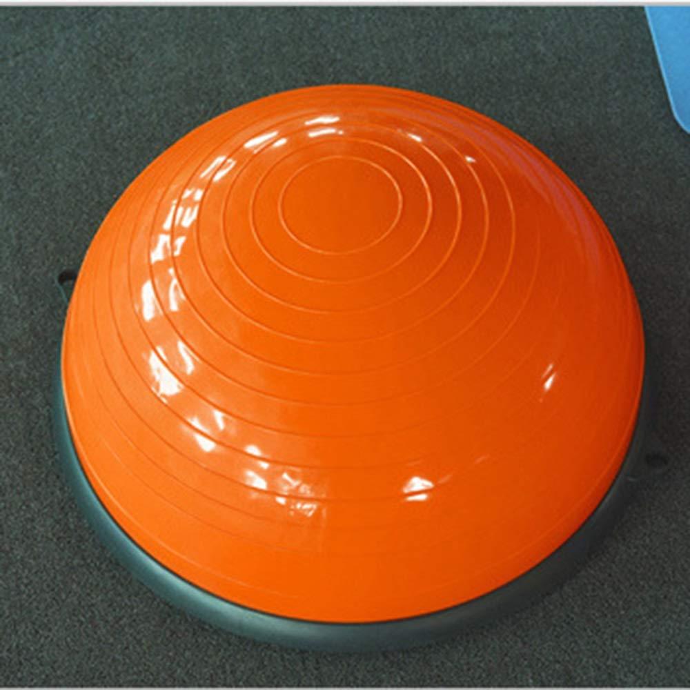 満点の ヨガバランストレーナー58センチバランストレーナーボールフィットネス強度エクササイズバランスボールとリフティングロープとポンプ Orange Orange B07QYY98LF Orange B07QYY98LF Orange, クロムステーション:5e6ee143 --- arianechie.dominiotemporario.com