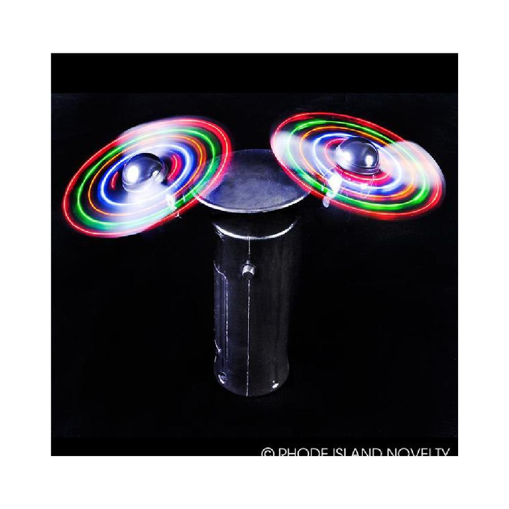 6'' Light-Up Double-Spinner Fan (With Sticky Notes)