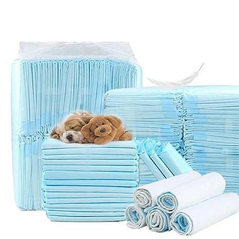 Wicemoon Almohadillas de entrenamiento para mascotas con orina para perro, almohadilla gruesa absorbente, pañales