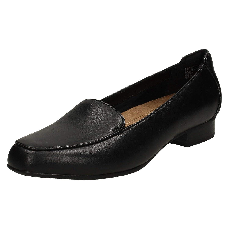 Clarks Janey Mae Damen Stiefel Mehrfarbig - schwarz Leather - Größe  37,5 EU E