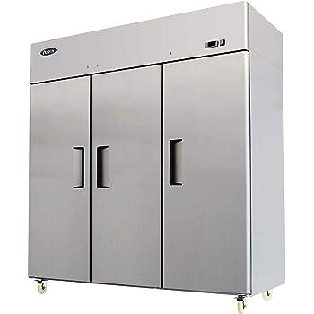 Amazon Com New Commercial 3 Door Stainless Steel Freezer