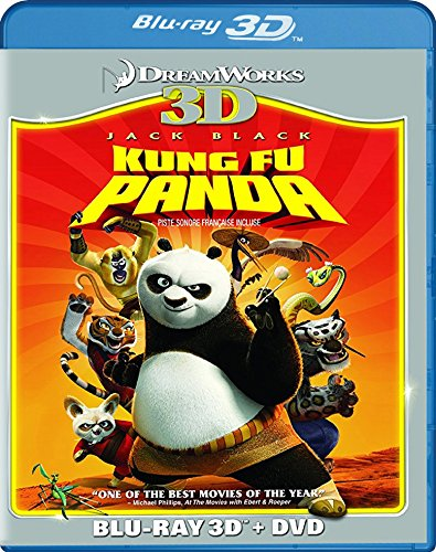 Kung Fu Panda three-D (Blu-ray three-D + DVD)