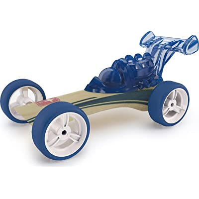 Hape Dragster Bamboo Kid's Toy Car: Toys & Games