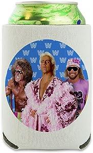 WWE Legends Can Cooler - Drink Sleeve Hugger Collapsible Insulator - Beverage Insulated Holder
