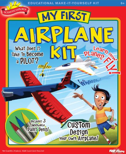 Scientific Explorer My First Airplane Kit First Airplane Kit
