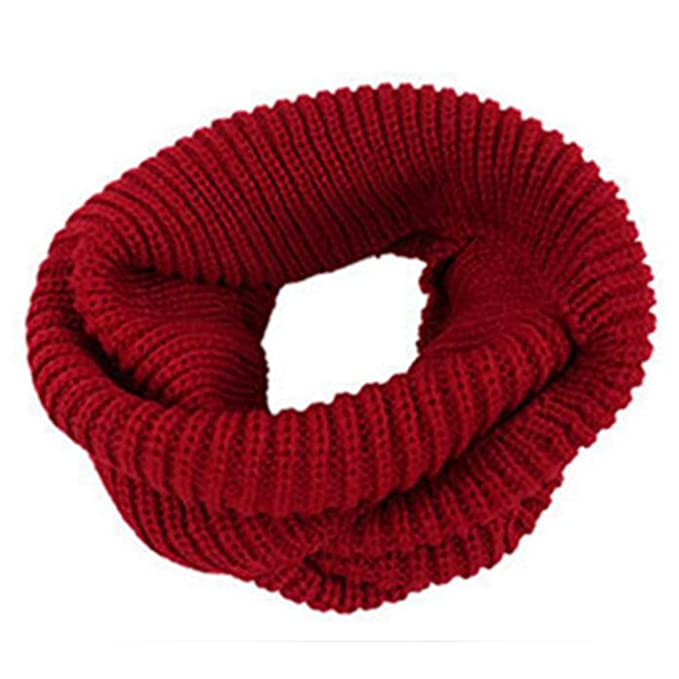 Gestrickte Schals 2 Kreis häkeln Schal Schal für Mann & Frau - Brown ...