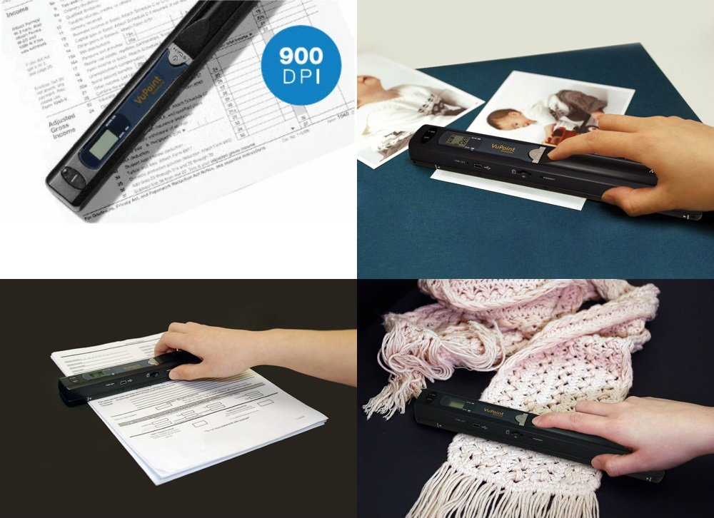 Magic Wand VuPoint Portable Scanner with Carrying Case & 4GB MicroSD Card by Magic Wand (Image #6)
