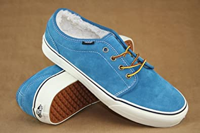 005f7bab83 Vans 106 Vulcanized (Pig Suede Fleece) Blue Sapphire Sample Skate ...