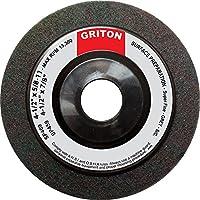 "Griton SP459 Silicon Carbide Super Fine Surface Preparation Wheel, 4-1/2"" x 7/8"" (Pack of 10)"