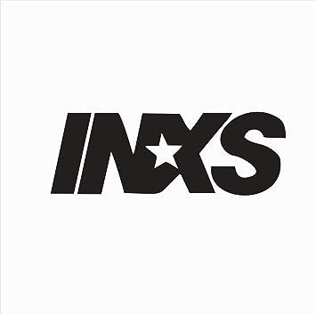 e43b5e4f5760 Amazon.com: Crazy Discount Vinyl Sticker Decal INXS Music for ...