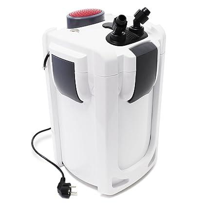SunSun HW-703B Filtro exterior acuario 1400l/h 30W Con lámpara UVC 9W Mantenimiento