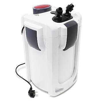 SunSun HW-703B Filtro exterior acuario 1400l/h 30W Con lámpara UVC 9W Mantenimiento acuario Peces: Amazon.es: Productos para mascotas
