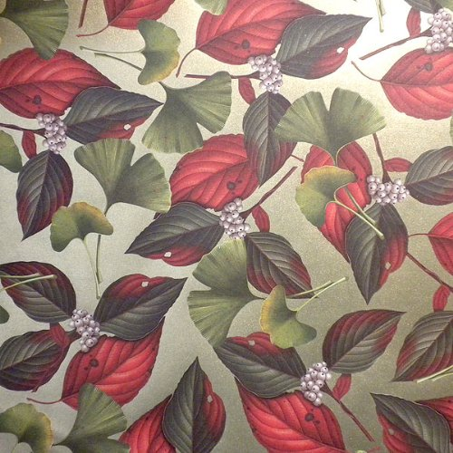 ROSSI Gingko and Cornus Alba Fine Art and Gift Wrap, used for sale  Delivered anywhere in USA