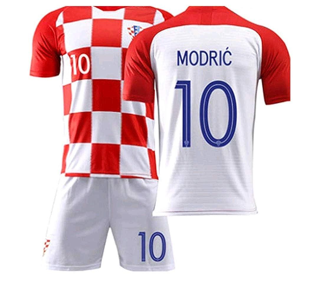 best service dba60 d9166 LISIMKE Croatia Home Luka Modric #10 Jersey 2018/2019 Men's Soccer