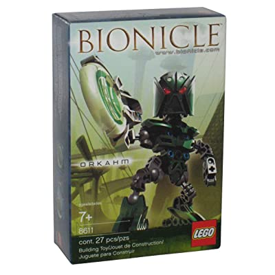 Lego Bionicle Matoran of Metru Nui Mini Figure Set #8611 Orkahm (Green): Toys & Games