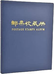 NITRIP Libro de colección de Sellos, álbum de Sellos, Sala de Estudio Duradera Azul multifunción para Sellos para Alimentos, hogar(Blue): Amazon.es: Juguetes y juegos