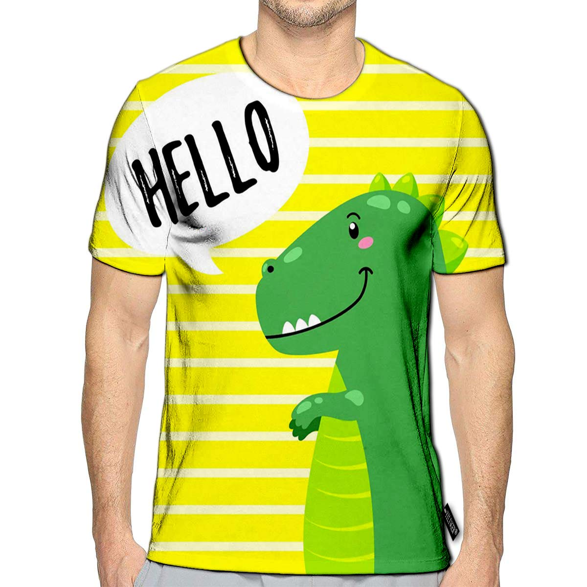 3D Printed T-Shirts I Don Care Seagulls Creative Short Sleeve Tops Tees