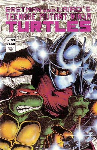 Teenage Mutant Ninja Turtles #10 (1st series): Kevin Eastman ...