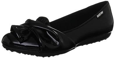 Rocket Dog Risky, Women's Ballet Flats, Black (Patent Black), 3 UK