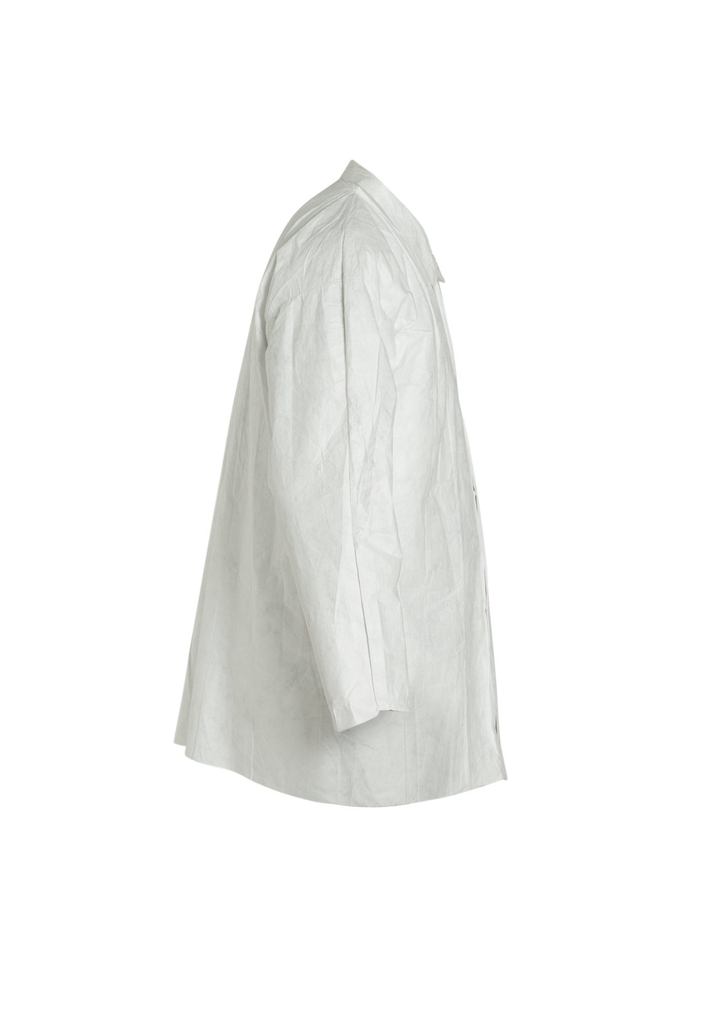 DuPont Tyvek 400 TY303S Disposable Shirt with Open Cuff, White, 2X-Large (Pack of 50) by DuPont (Image #2)