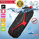 Bluetooth Speaker IPX7 Waterproof Shower Speaker, Portable Wireless Speaker with Pest Repellent Hands Free Call Function Stereo Loudspeaker for iPhone Android Samsung iPad Tablet Outdoor Bath Beach