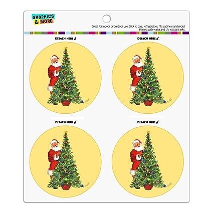 Amazon Com Christmas Holiday Santa Decorating Tree