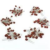 1000pcs (50 Valeurs) Condensateur Céramique 50V 1pf-100nf