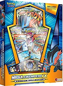 Amazon Com Pokemon Tcg Mega Swampert Ex Evolution Premium