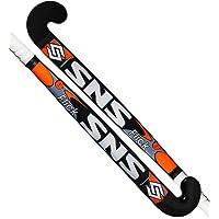 SnS Flick Hockey Stick Wooden (Black-Orange)