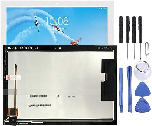 携帯電話のスペアパーツ Lenovo Tab 4 X304 TB-X304L TB-X304F TB-X304N LCDスクリーンおよびデジタイザーフルアセンブリと互換性あり (色 : 白)