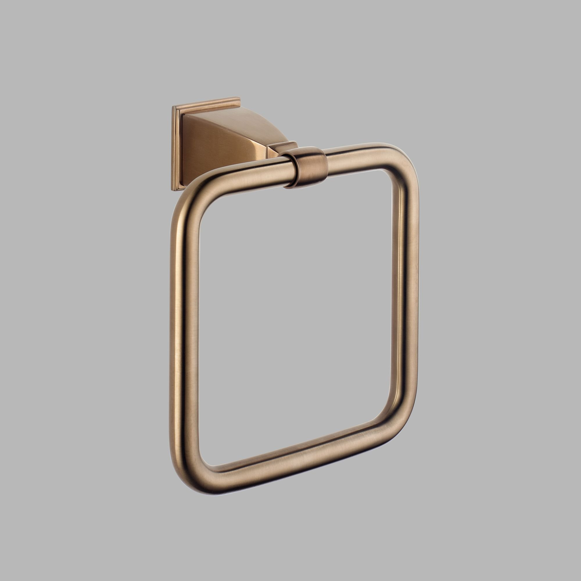 Brizo 69846-BZ - Vesi: Towel Ring - Brushed Bronze Brilliance Finish by Brizo