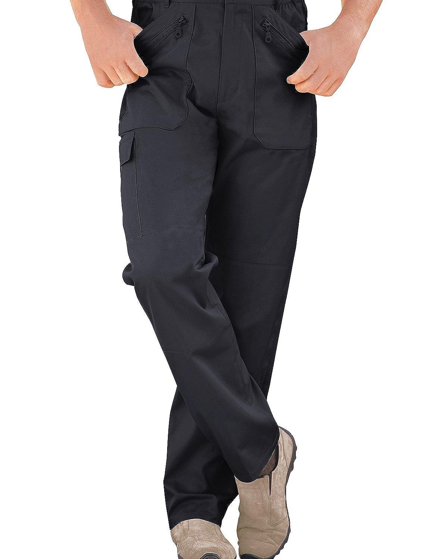 TALLA Cintura 112cm x Longitud De Las Piernas 74cm. Chums Pantalones elásticos Forrados con Polar con Multibolsillos, para Hombre