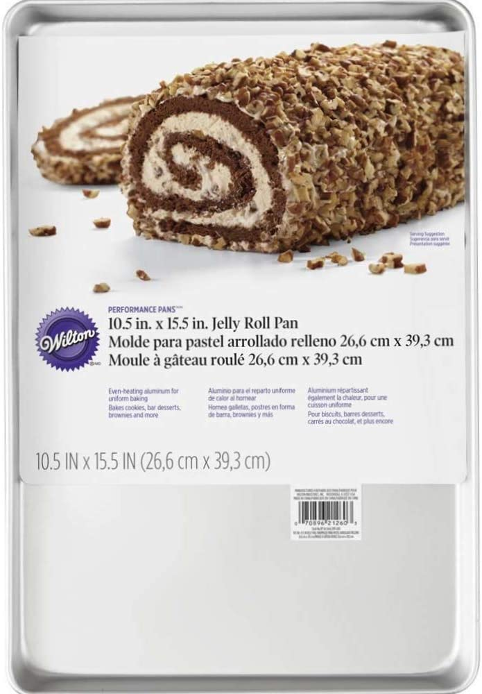صينية خبز من ويلتون مصنوعة من الألمنيوم غير مطلي – 1/2 بوصة