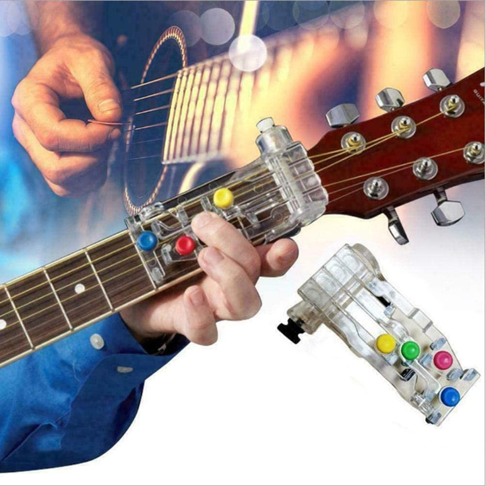 Guitar Chord Auxiliary Guitar Chord Learning System Effective Useful Teaching Aid Tool Device for All Ages