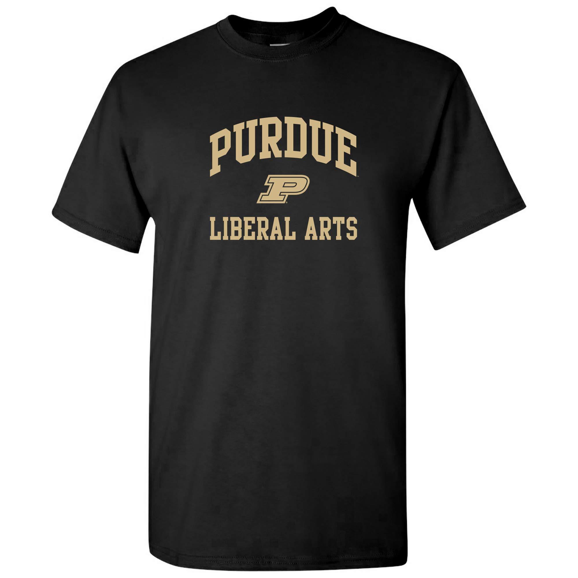 Purdue University Boilermakers Arch Logo Departt Team Color T Shirt 8417