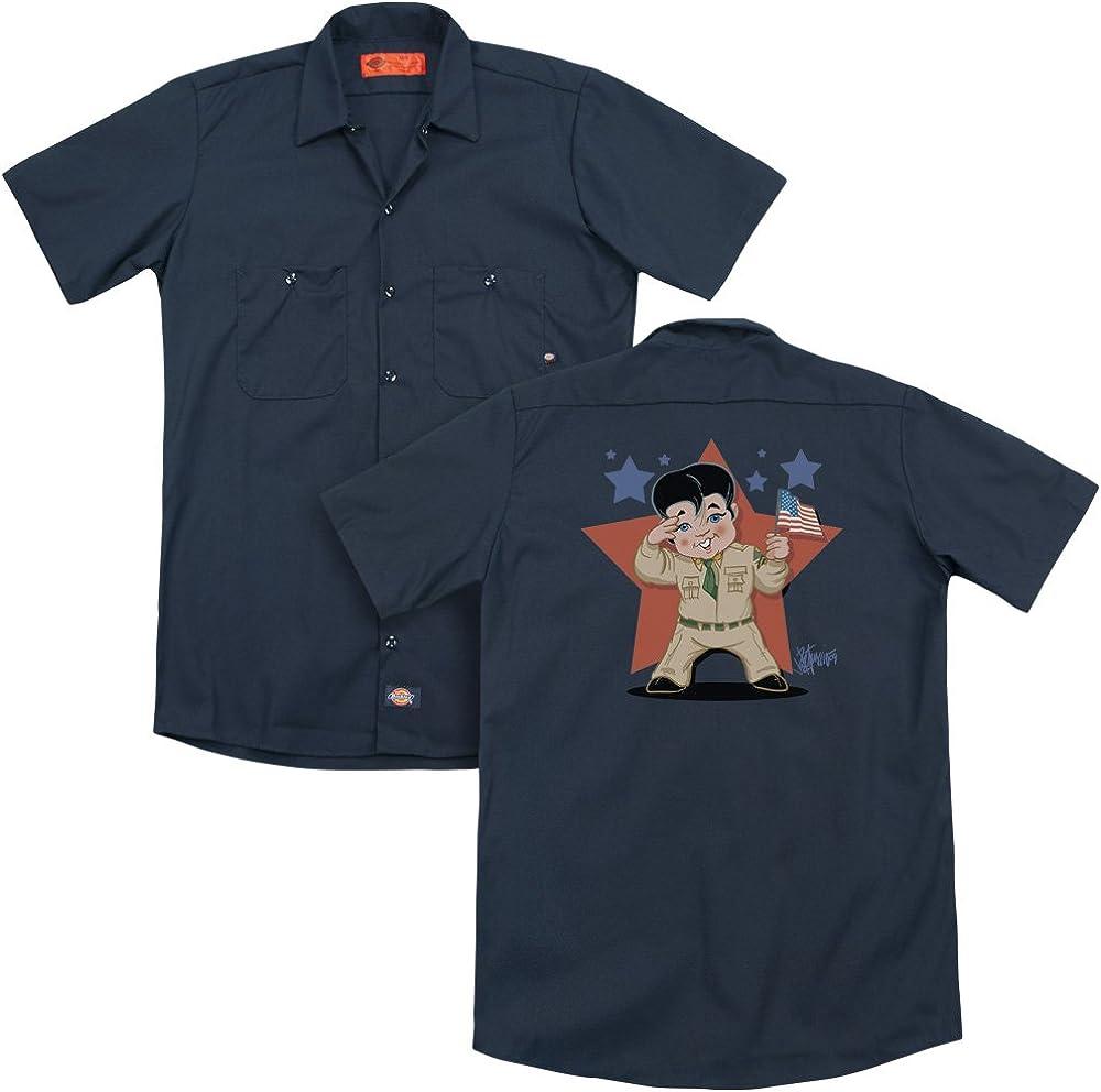 Elvis Lil G I Adult Work Shirt