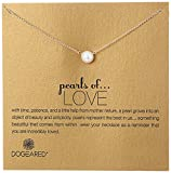 Image of Dogeared Pearls of Love 8mm Freshwater Pearl Necklace, 18