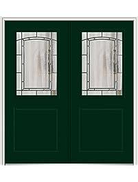 national door z029424l smooth primed left hand inswing prehung front door 1