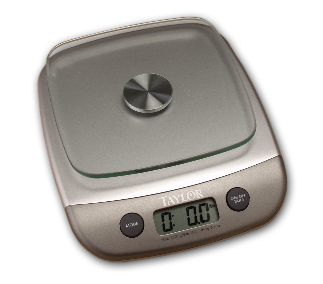 Amazon.com: Taylor Kitchen Scale   Silver (8 Lb.): Digital Kitchen Scales:  Kitchen U0026 Dining