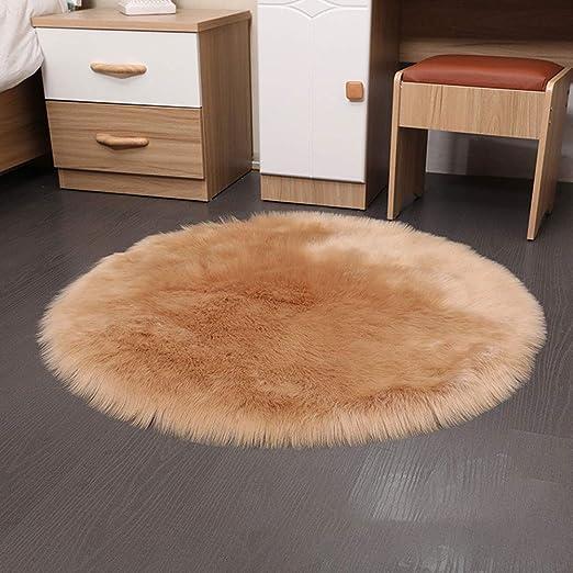 Imitación forro polar silla cojín de asiento suave mullidas ...