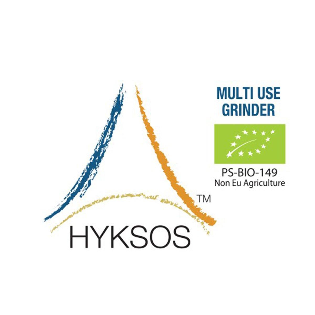 Hyksos Natural Edible Coarse Salt 3.9 oz - Multi Use Grinder by HYKSOS (Image #4)