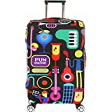 Fvstar Washable Travel Luggage Cover Spandex Suitcase Cove Protector Baggage Covers