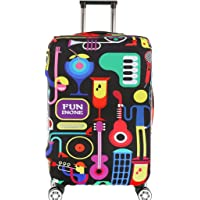 Fvstar Travel Luggage Cover Spandex Suitcase Protector Washable Baggage Covers