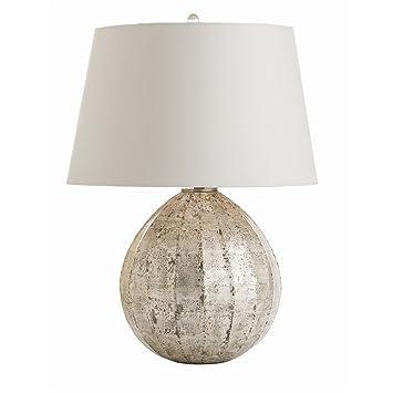 Arteriors Home 44105-272 Edaline Silver Leaf L&  sc 1 st  Amazon.com & Arteriors Home 44105-272 Edaline Silver Leaf Lamp - Table Lamps ...