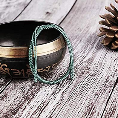 Bracelet /à la Main Homme Femme EXINOX Bracelet Spirituel Equinox Tib/étain Noeud Traditionnel Bouddhiste