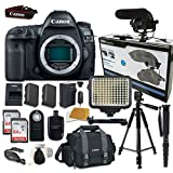 Cheap Canon EOS 5D Mark IV Digital SLR Camera Bundle (Body Only) + Accessory Bundle (14 items)
