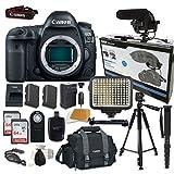 Cheap Canon EOS 5D Mark IV Digital SLR Camera Bundle (Body Only) + Accessory Bundle (14 items)