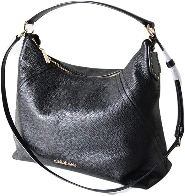 : Michael Kors Aria Bag MD Leather Black