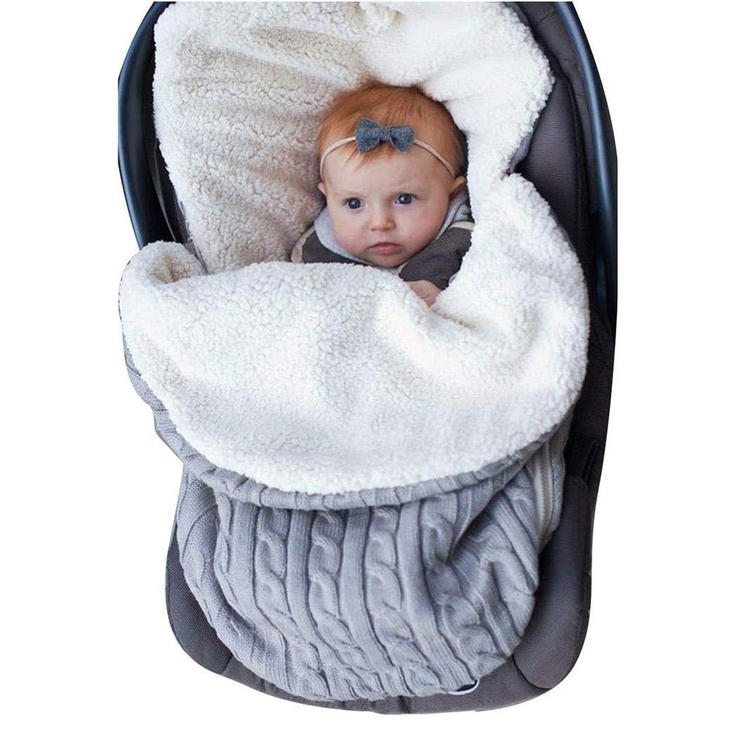 Cidere Infant Baby Swaddle Sleeping Bag Soft Sleep Sack Stroller Wrap Blanket Sleeping Bags by Cidere